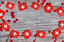 Independence day Switzerland, August 1. Federal holiday in honor of the founding of the Swiss Confederation. day of the. AUGUST 01 Concept independence day of stock image
