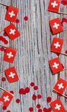 Independence day Switzerland, August 1. Federal holiday in honor of the founding of the Swiss Confederation. day of the. AUGUST 01 Concept independence day of stock images