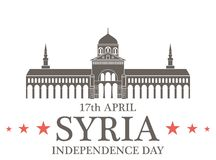 Independence Day. Syria Royalty Free Stock Photo