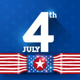 Independence Day. 4Th of July, American Independence Day background Royalty Free Stock Image
