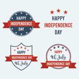 Independence Day 4th of July vector illustration