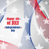 Independence day 4 th of july. Royalty Free Stock Image