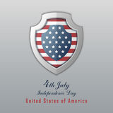 Independence day 4th july. Happy independence day. USA Holiday 4th of July greeting card vector illustration royalty free illustration