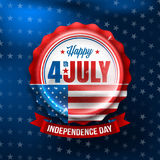 Independence day 4 th july.Happy USA Independence Day 4 th July. Stock Images