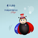 Independence Day, 4th of July. Illustration of Independence Day, 4th of July Stock Image