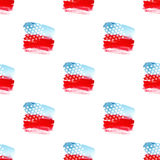 Independence day 4 th july seamless pattern Stock Photo