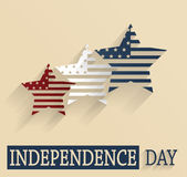 Independence Day. 4th Of July. Vector illustration Royalty Free Stock Photography