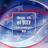 Independence day 4 th of july. Stock Images