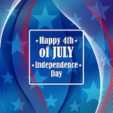 Independence day 4 th of july. Royalty Free Stock Photos