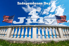 Independence Day - 4th of July Royalty Free Stock Photo