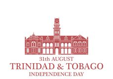 Independence Day. Trinidad and Tobago Stock Image