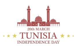 Independence Day. Tunisia Stock Photo