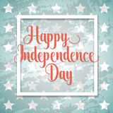 Independence day typographic element Stock Photo