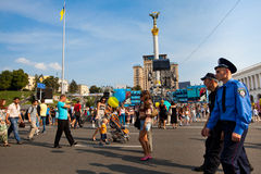 Independence Day of Ukraine Royalty Free Stock Photos