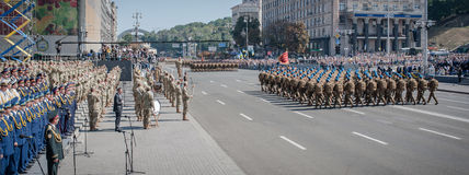 Independence Day of Ukraine Royalty Free Stock Photography
