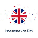 Independence day of United Kingdom. Patriotic Banner. Vector illustration. Stock Photography