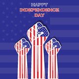 Independence Day of united state  design  Stock Photography