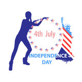 Independence Day United States. Concept holiday Stock Photography