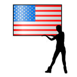 Independence Day United States. The concept Stock Photo