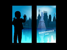 Independence Day United States. The fourth Royalty Free Stock Photos