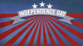 Independence Day, US American flag concept background. Independence Day text with US American flag concept background Royalty Free Stock Photography