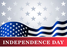 Independence day USA background flag Stock Images