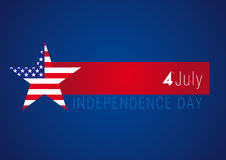 Independence day USA banner Royalty Free Stock Photos