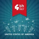 Independence day. Usa icon. Celebration concept , vector. Independence day concept with icon design, vector illustration 10 eps graphic Royalty Free Stock Photo