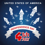 Independence day. Usa icon. Celebration concept , vector. Independence day concept with icon design, vector illustration 10 eps graphic Royalty Free Stock Images