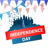 Independence day usa, . Illustration design. Stock Images