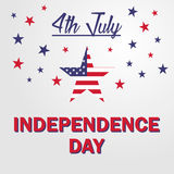 Independence day USA 4th july. Vector illustration Royalty Free Stock Images