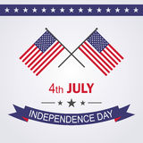 Independence day USA 4th july. Vector illustration Royalty Free Stock Photo