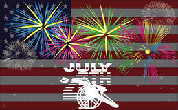 Independence Day - Vector Stock Image