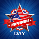 Independence Day vector Royalty Free Stock Photography