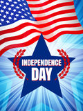 Independence Day vector Stock Image