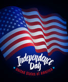 Independence Day vector Royalty Free Stock Photo