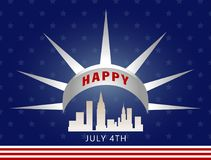 Independence day stock illustration