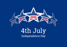 Independence Day vector Royalty Free Stock Photos