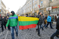 Independence Day, Vilnius, Lithuania Royalty Free Stock Photography