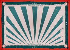 Independence Day Vintage Horizontal Poster Royalty Free Stock Image
