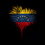 Independence day. Welcome to Venezuela Royalty Free Stock Image