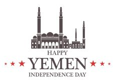 Independence Day. Yemen Royalty Free Stock Photos
