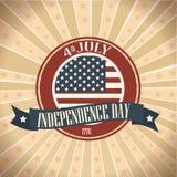 Independence grunge Royalty Free Stock Photo