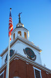 Independence Hall. At Knott's Berry Farm Royalty Free Stock Image