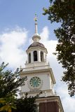 Independence Hall Clock Tower Royalty Free Stock Image