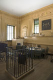 The Independence Hall courtroom Stock Photography