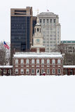 Independence Hall, historical landmark in Philadel Royalty Free Stock Image