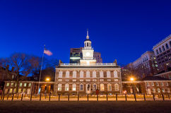 Independence Hall National Historic Park Philadelphia Royalty Free Stock Photography