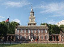 Independence Hall North Side. Independence Hall in Philadelphia Pennsylvania on a sunny morning Stock Images