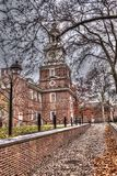 Independence hall in Philadelphia, Pa. USA Royalty Free Stock Images